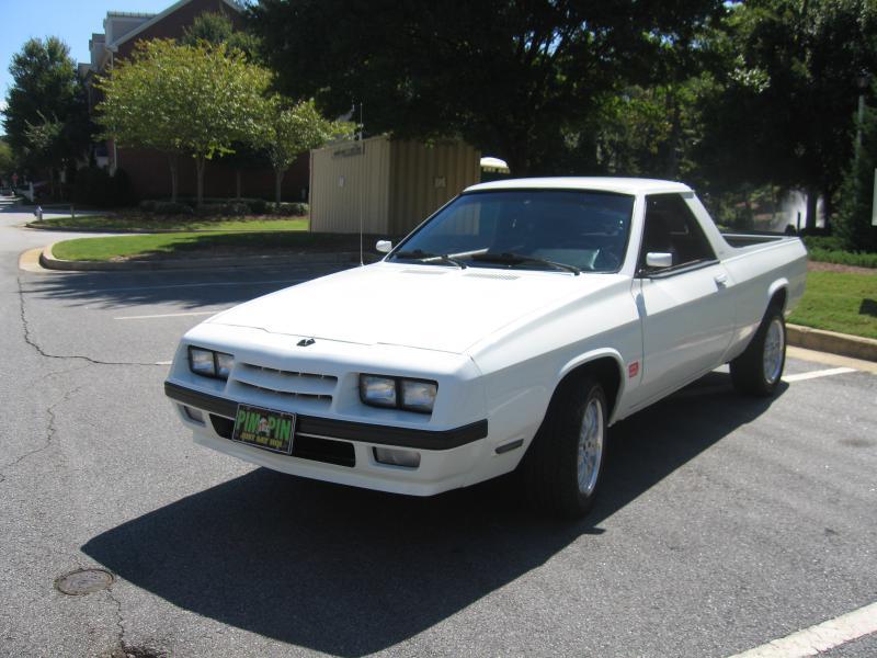 1984 Dodge Rampage - $$5500 USD - Turbo Dodge Forums : Turbo Dodge ...