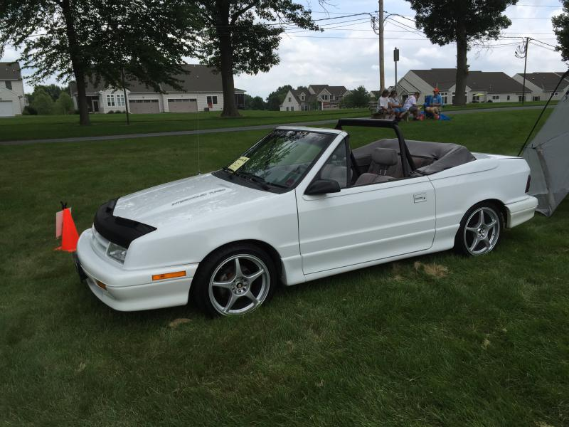 Cars For Sale In Cleveland Ohio >> 1991 Dodge Shadow ES Convertible - $$3,900.00 - Turbo ...