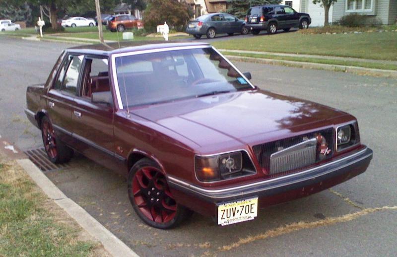 Dodge Dart Srt4 >> 1989 Dodge Aries R/T 2.2 Turbo **Trades!!!** - $5000 ...