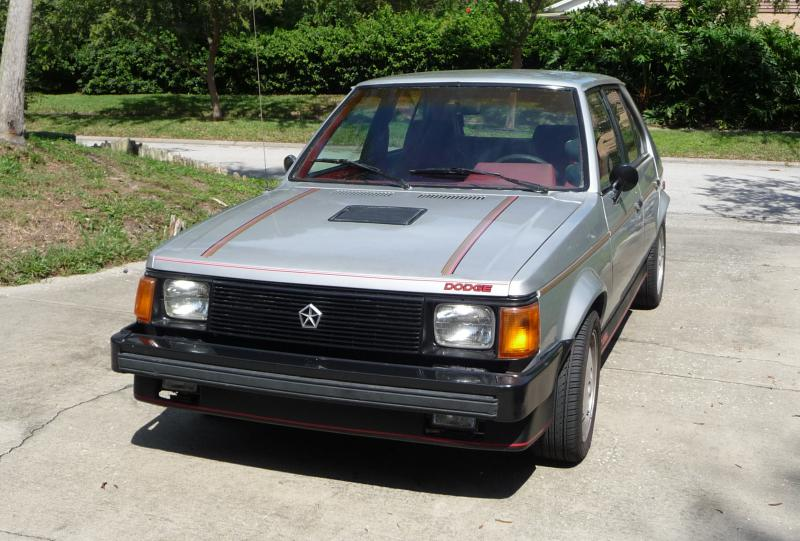 1985 Dodge Omni Glh S Package 4500 Turbo Dodge Forums