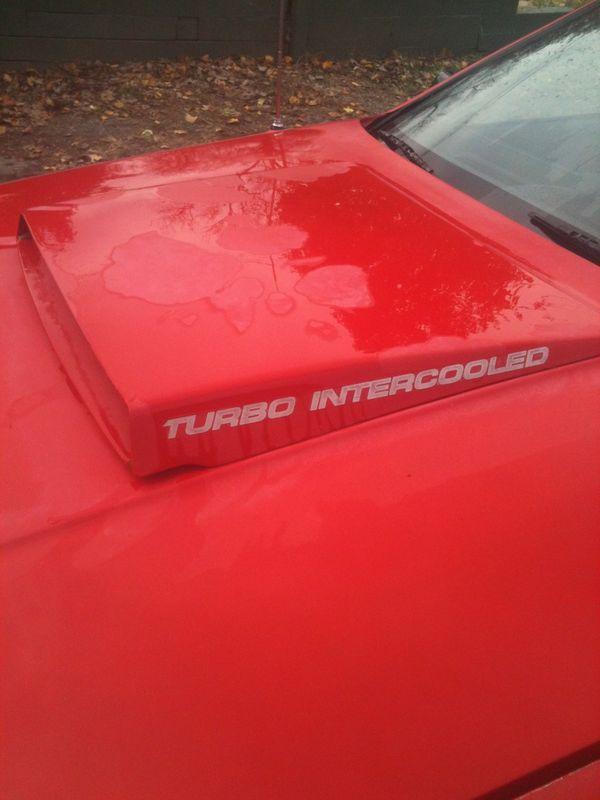 daytona hood scoop rarity? - Turbo Dodge Forums : Turbo ...