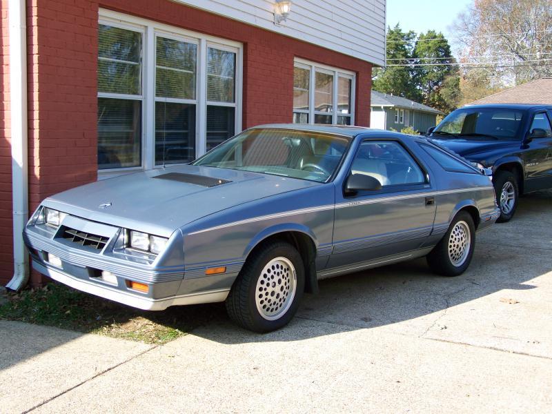 1985 Chrysler Laser Xe 1500 Turbo Dodge Forums