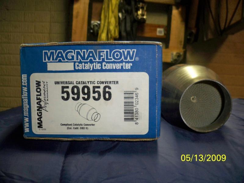 2 5 Magnaflow High Flow Spun Metallic Cat Turbo Dodge