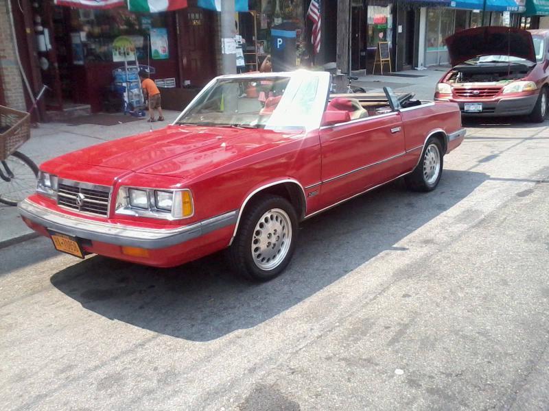 Cars For Sale Richmond Va >> 1986 Dodge Dodge 600 Convertible - $$3,800 - Turbo Dodge ...