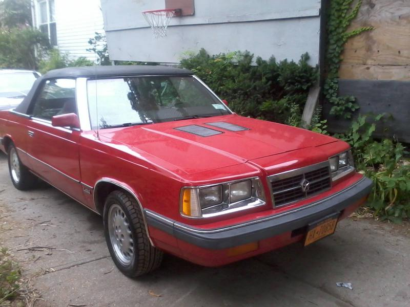 1986 Dodge Dodge 600 Convertible - $$3,800 - Turbo Dodge ...