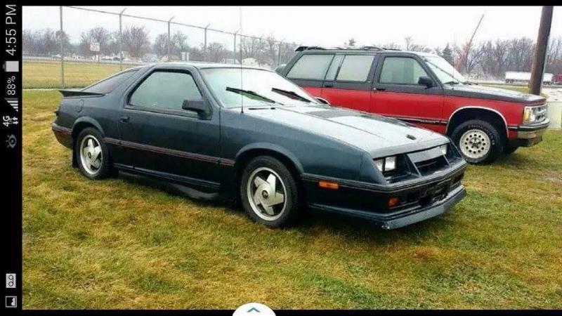 D Dodge Daytona Turbo Z N on 1984 Chrysler Pt Cruiser