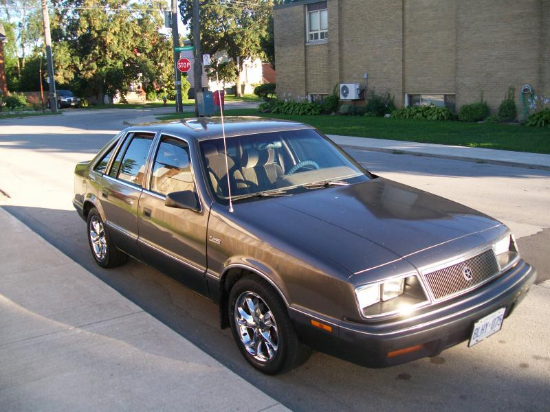 1988 Chrysler Lebaron Gts Turbo 2200 Turbo Dodge
