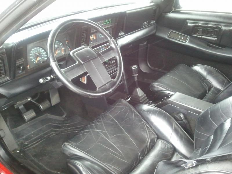 1986 Chrysler Laser Xt 5500 Turbo Dodge Forums