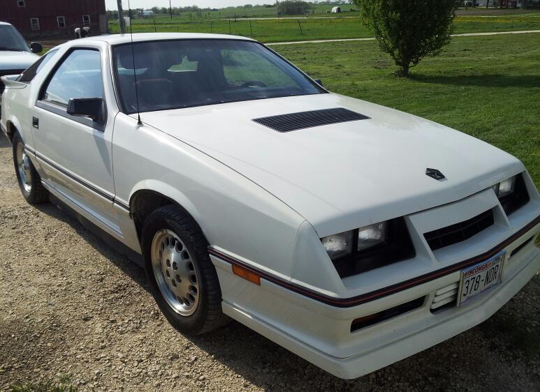 D Dodge Daytona Turbo Z