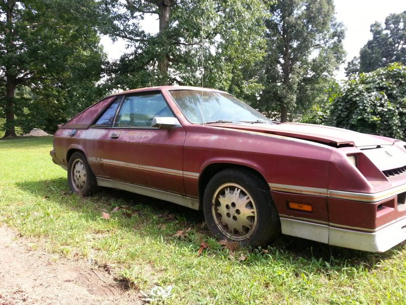 1985 Dodge Shelby Charger - $1000obo - Turbo Dodge Forums ...