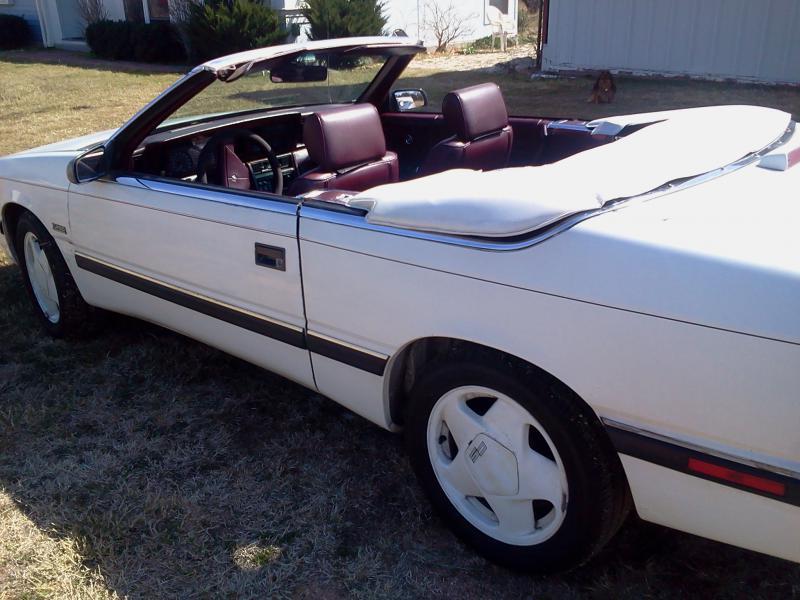 1988 Chrysler Lebaron Convertible 1800 Turbo Dodge