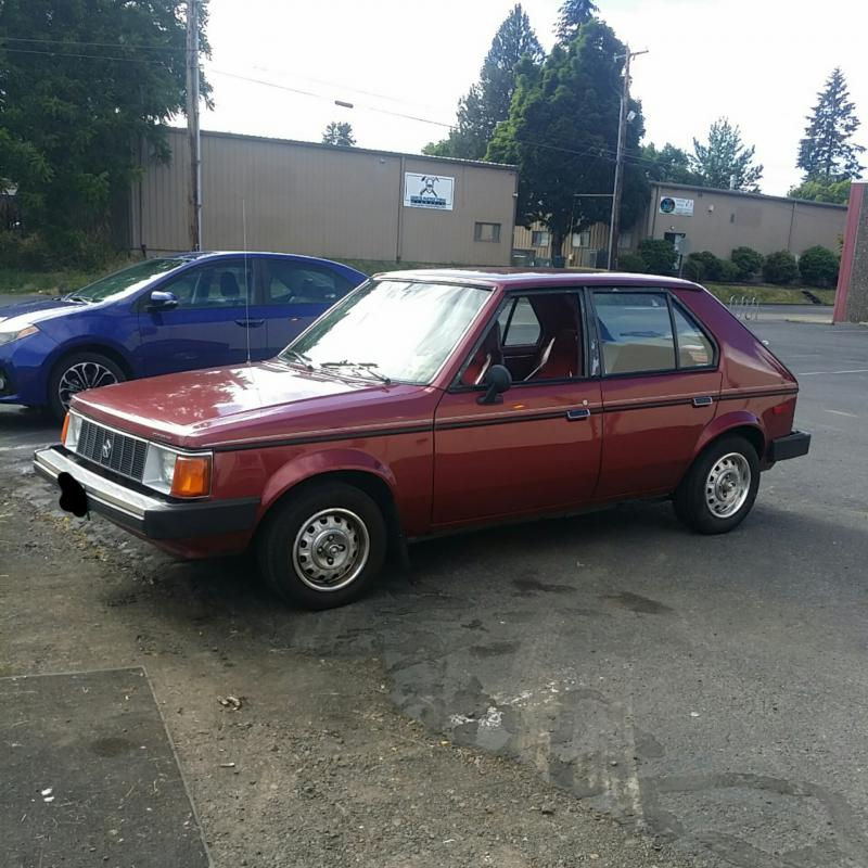 1989 Other Plymouth Horizon Make An Offer Turbo Dodge