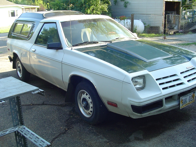 1982 Dodge Rampage - $$2500.00 - Turbo Dodge Forums ...