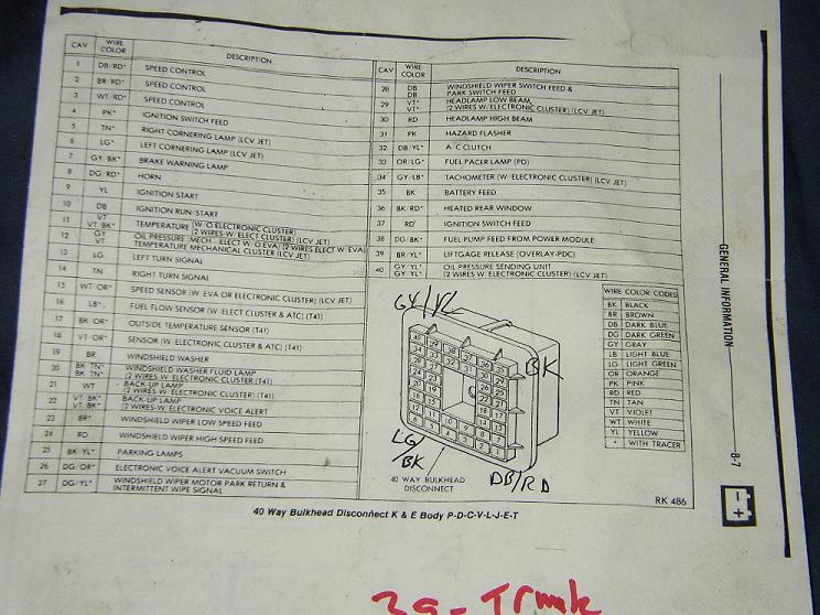 Please Post  U0026 39 85 Omni Bulkhead Diagram