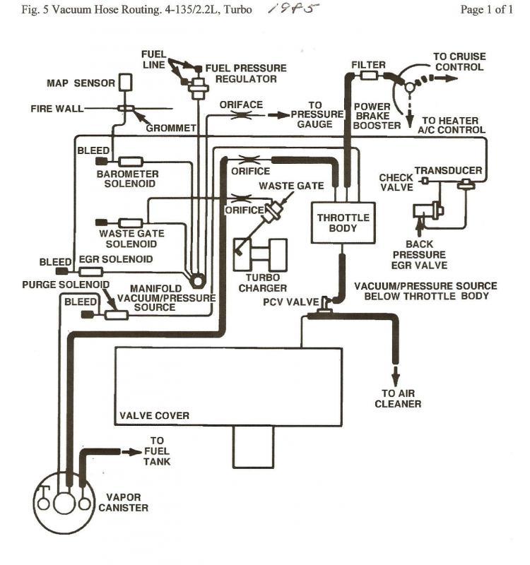 85 omni TI vacuum diagram?! - Turbo Dodge Forums : Turbo