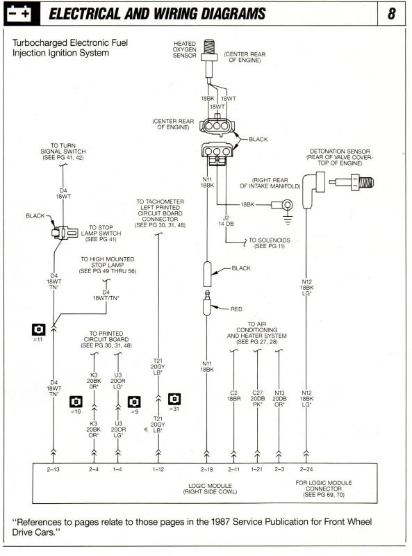 1986 Shelby GLHS Omni Wiring      Vacuum       Diagrams     Turbo