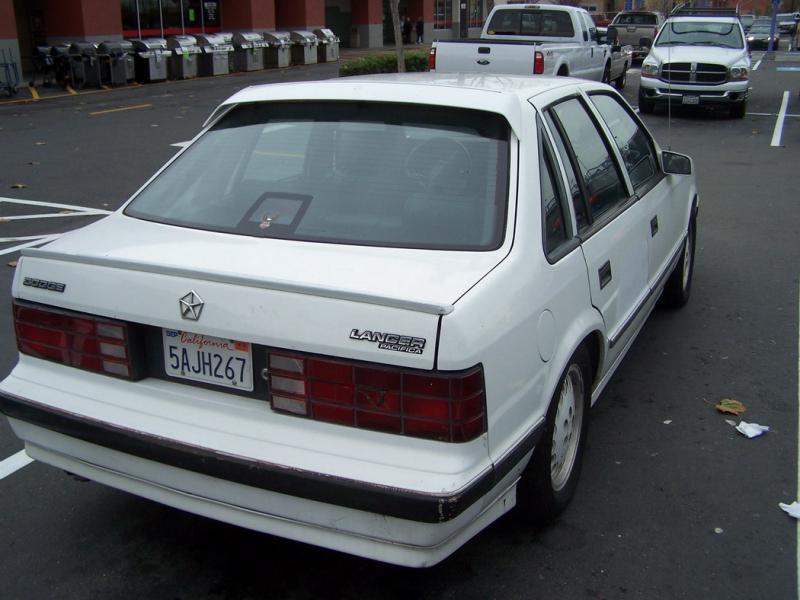 Junk My Car Near Me >> 86 Shelby Lancer T1 2.2L, 5-speed CA car - Turbo Dodge Forums : Turbo Dodge Forum for Turbo ...