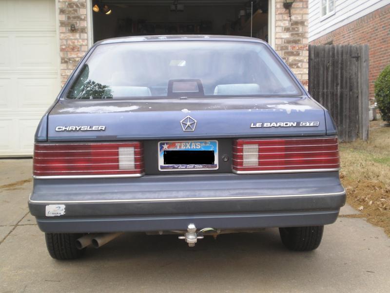 1987 Chrysler Lebaron Gts 2000 Turbo Dodge Forums
