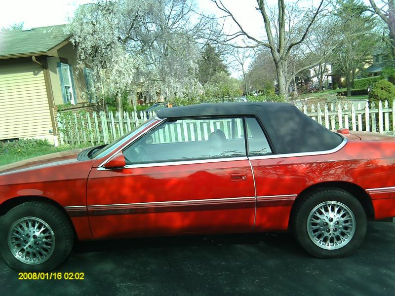 1995 chrysler lebaron gtc convertible 4999 turbo. Black Bedroom Furniture Sets. Home Design Ideas