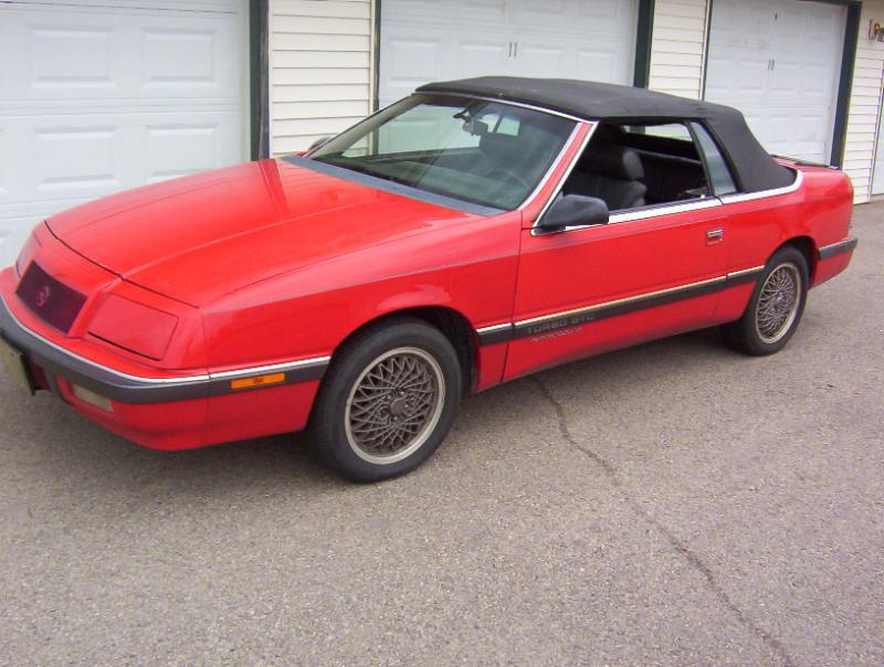 Aaa Title Transfer >> 1989 Chrysler Lebaron GTC Convertible - $2,500.00 obo - Turbo Dodge Forums : Turbo Dodge Forum ...