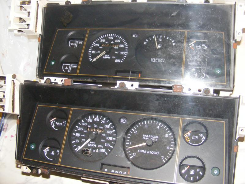 2010 Dodge Grand Caravan >> Help 89 Caravan instrument cluster swap with tach - Turbo ...