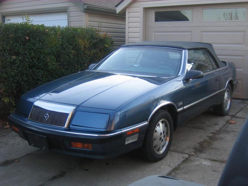 Chrysler Lebaron Convertible. 1987 Chrysler LeBaron