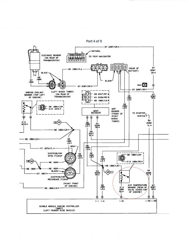 charge air tempreture sensor schematic