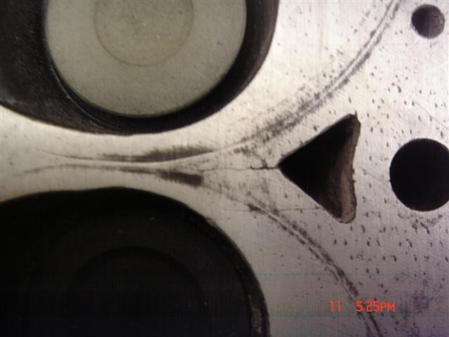 Cracked Head Gasket >> Cracked Head - Turbo Dodge Forums : Turbo Dodge Forum for ...