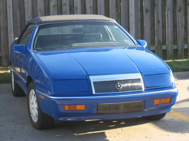 1989 chrysler lebaron turbo gtc