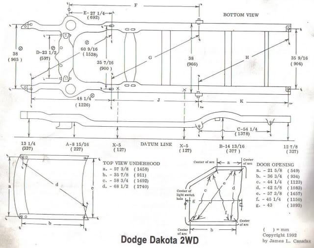 Chevy Truck Frame Dimensions And Specs 88 98 Autos Post