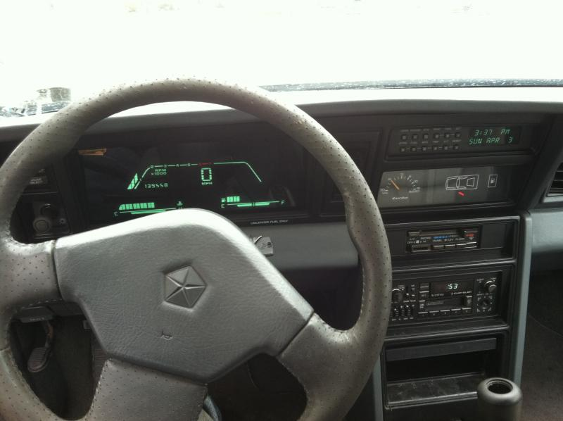 1988 Dodge Daytona Pacifica 2000 Turbo Dodge Forums