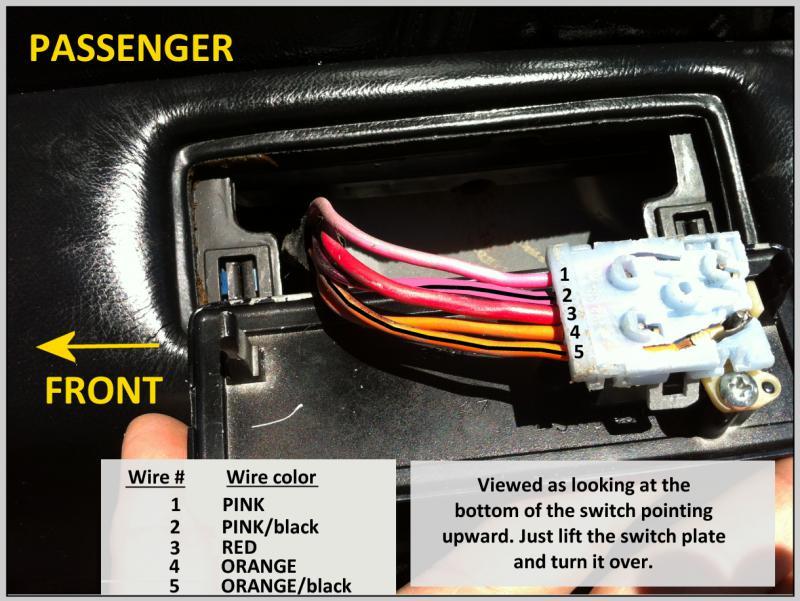 84  85  86  87 Power Door Lock Wiring  Turbo Dodge Forums
