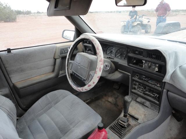 Plymouth acclaim interior