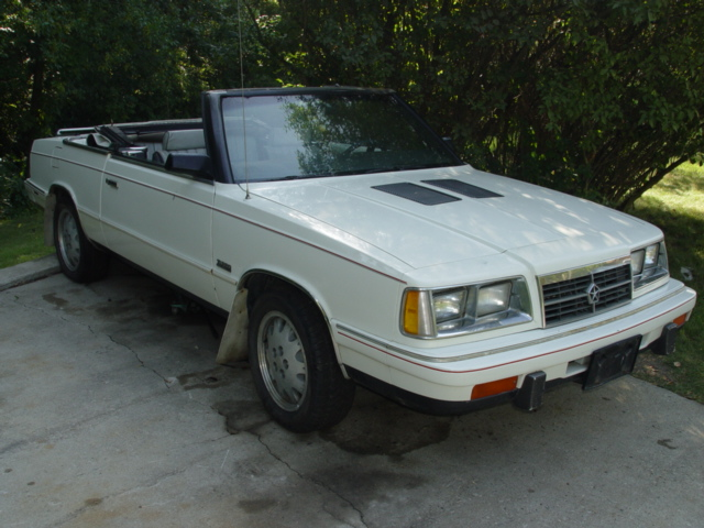 Cars For Sale In Wisconsin >> 1986 Dodge 600 Convertible - $1500 - Turbo Dodge Forums ...