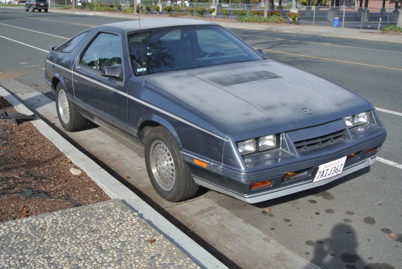 1984 Chrysler Laser Xe 1800 Turbo Dodge Forums