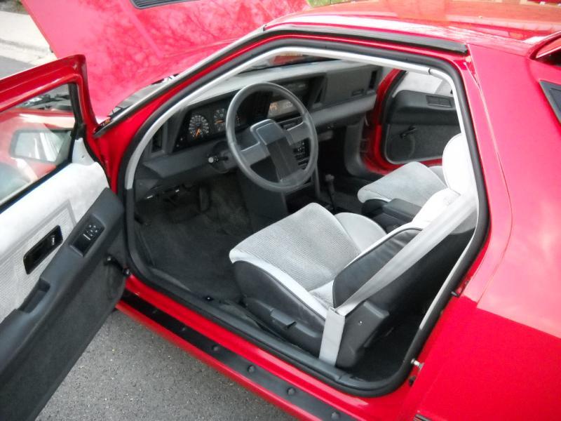 1986 dodge daytona turbo z -  5500