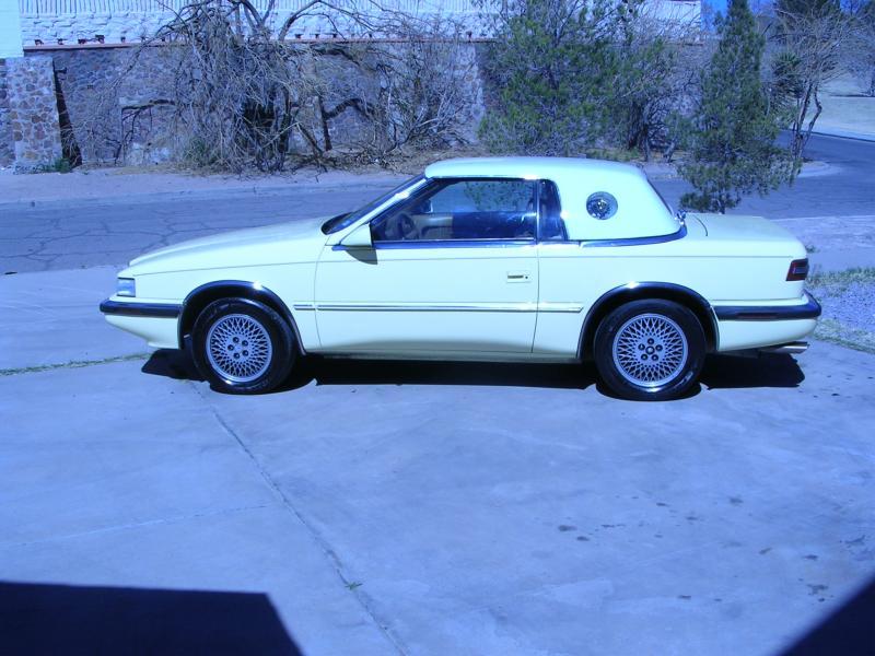 1989 Chrysler TC by Maserati - $$4,000 - Turbo Dodge ...