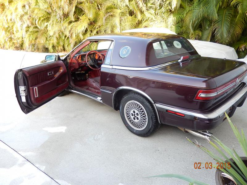 Chrysler tc maserati for sale