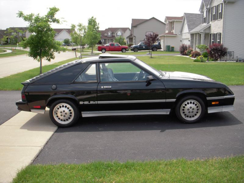 1985 Dodge Shelby Charger - $5,950.00 - Turbo Dodge Forums : Turbo