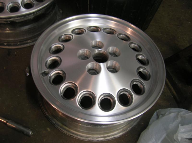 Sandblasting Aluminum Rims Turbo Dodge Forums Turbo