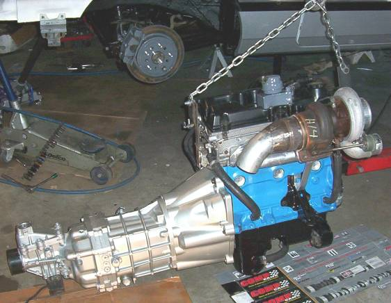 caliber srt4 engine swap