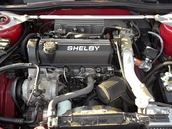 1989 Dodge Shelby Csx -  3500