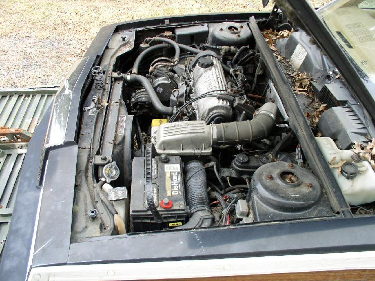 1985 Chrysler LeBaron Turbo Convertible Mark Cross 0 (MD)-engine1.jpg
