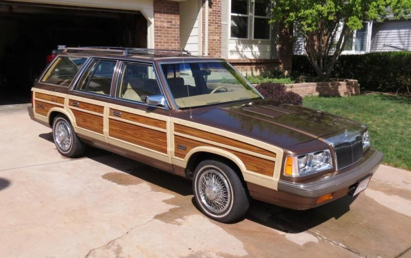1986 Chrysler Town Amp Country Woodie Wagon 3800 Turbo