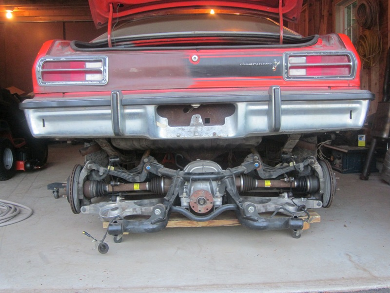 Suspension Anyone ever do an IRS setup on a RWD TD? - Page 2 - Turbo
