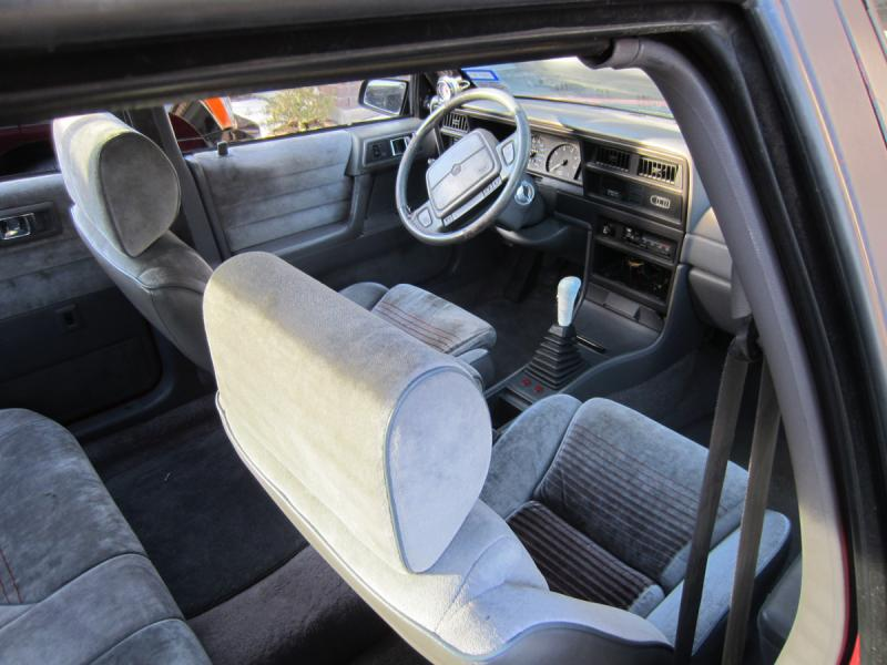1991 Dodge Spirit R/T - $00-front-interior-2.jpg