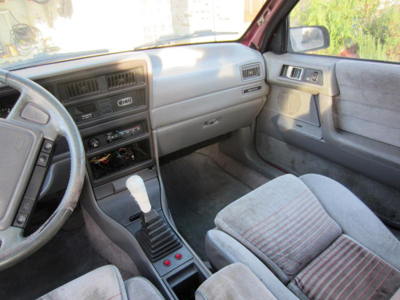 1991 Dodge Spirit R/T - $00-front-interior.jpg
