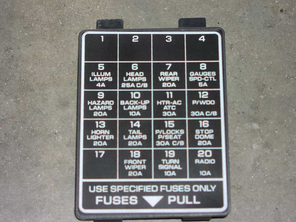 No Power To Fuel Pump