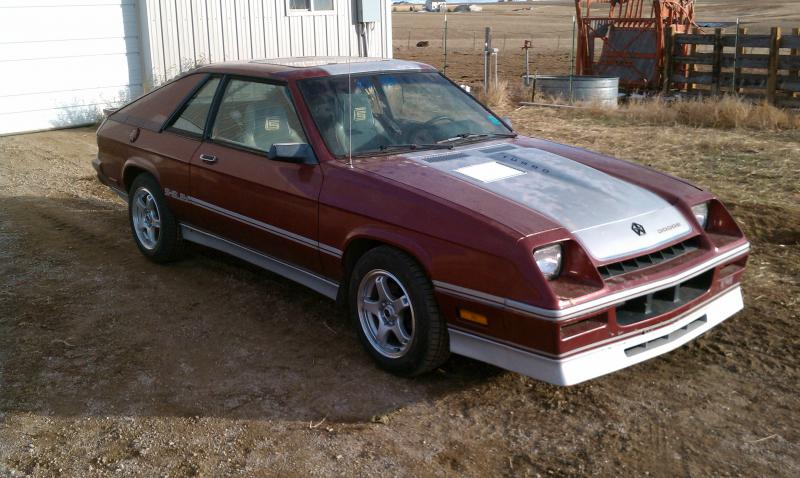 1987 Dodge Charger Shelby 2000 Turbo Dodge Forums