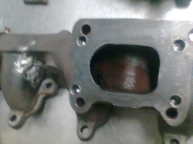 Exhaust manifold turbo flange adapter to T3? - Turbo Dodge ...